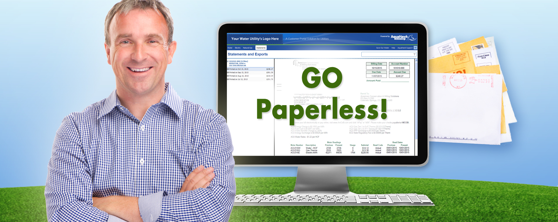 Integrated Paperless Billing